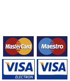 Secure payments by Worldpay and Paypal