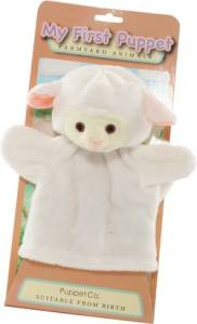 My First Hand Puppet - Lamb by The Puppet Company