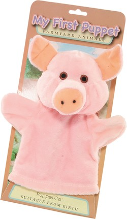 My First Hand Puppet - Pig by The Puppet Company