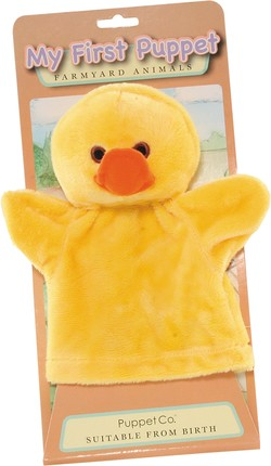 My First Hand Puppet - Duck by The Puppet Company