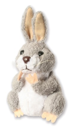 Image shows The Puppet Company Rabbit Finger Puppet PC020234