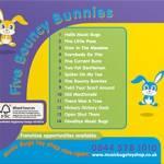 Music Bugs CD - Five Bouncy Bunnies