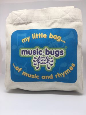 Image shows Music Bugs My Little Bag of Music and Rhymes