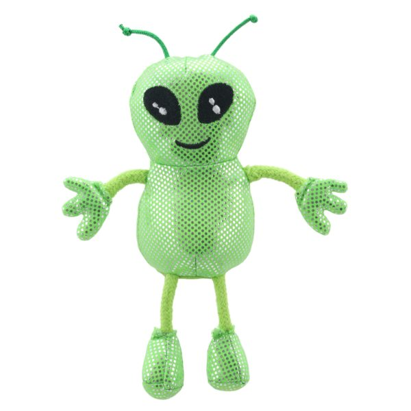 Image shows The Puppet Company Alien Finger Puppet PC002214