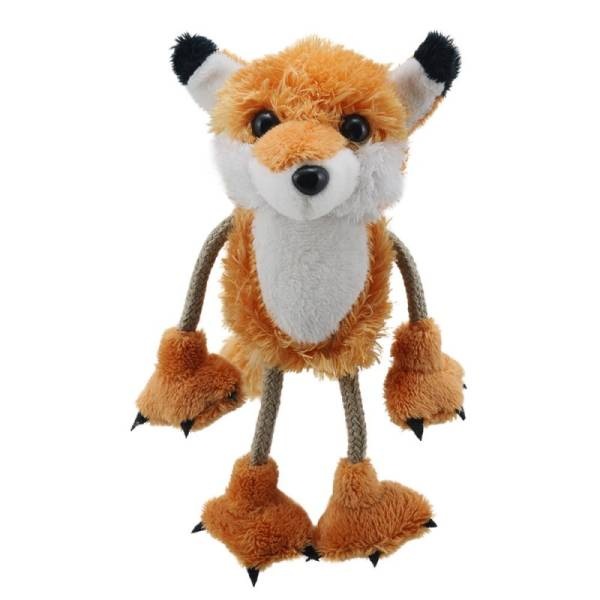 Image shows The Puppet Company Fox Finger Puppet PC020233