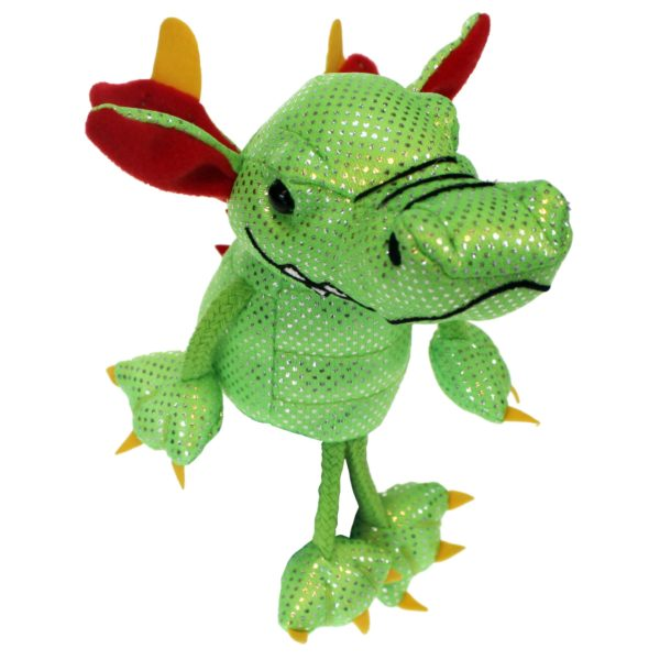 Image shows The Puppet Company Dragon Finger Puppet PC002136