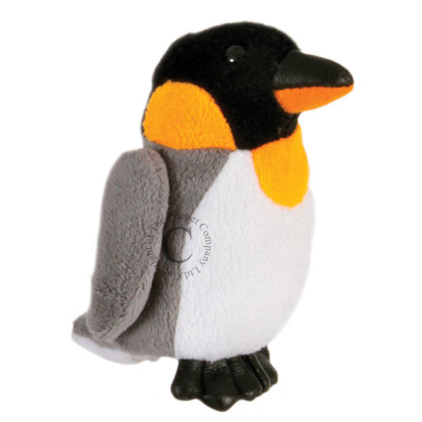 Image shows The Puppet Company Penguin Finger Puppet PC020301
