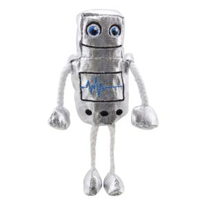 Image shows The Puppet Company Robot Finger Puppet PC002216