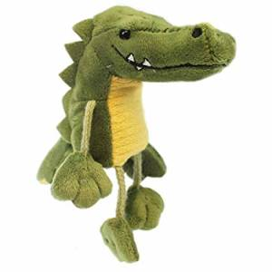Image shows The Puppet Company Crocodile Finger Puppet PC020204
